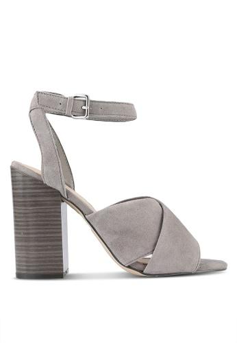 ALDO grey Gilliana Heels AL087SH0RT4CMY_1
