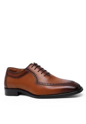 Twenty Eight Shoes 復古手工雕花真皮皮鞋 867806 CD9BCSHA06E1A4GS_1
