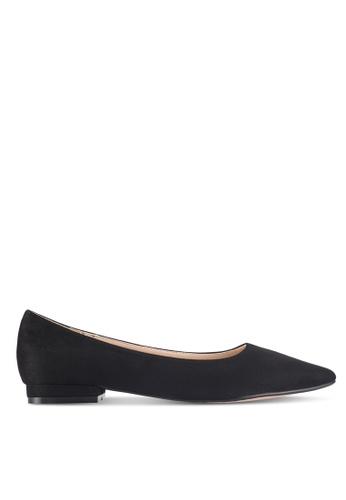 ZALORA black Essential Flats With Slight Heel 4DEEFSH8940EF7GS_1