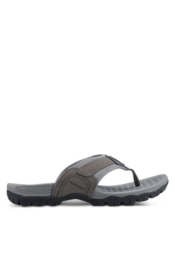 Weinbrenner grey Slip On Sandals 8D379SH2742C1AGS_1