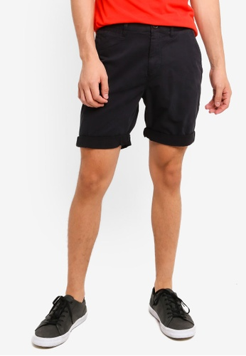 Superdry navy International Chino Shorts 21686AAD97D8E2GS_1