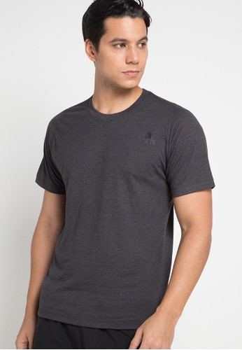 adidas grey adidas freelift_sport prime heather tee 6822EAA9129F8BGS_1