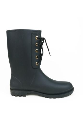 Twenty Eight Shoes black Tour Short Rain Boot 8079 0A5CESH84EB3D0GS_1