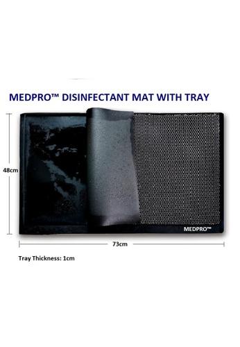 MEDPRO MEDPRO™ Shoe Sanitizer Mat - Shoe Disinfectant Dispensing Tray Mat  + FREE Anti-slip Microfiber Mat! 457C9HL5E24CF2GS_1