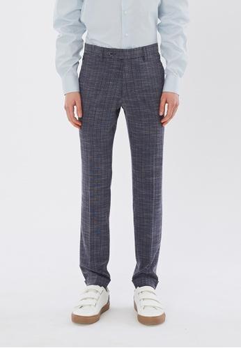 Flawless Flashbacks. blue Blue Cropped Trousers 7D1B5AAA22F227GS_1