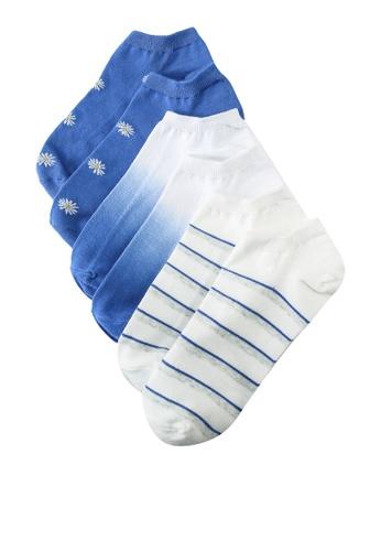 GAP blue SU21 Fashion Ankle Socks 01DF1AA7212334GS_1
