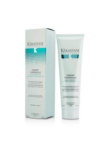 Kérastase KÉRASTASE - Resistance Ciment Thermique Resurfacing Strengthening Milk Blow-Dry Care (For Damaged Hair) 150ml/5.1oz 81489BE3FDE340GS_1