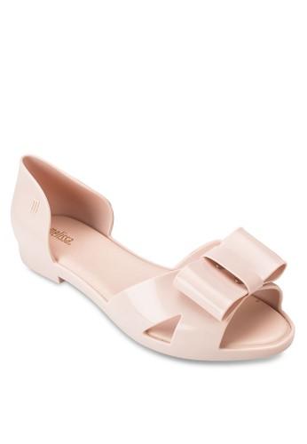 Seduction 蝴蝶結側空平底鞋, 女esprit 尖沙咀鞋, 鞋