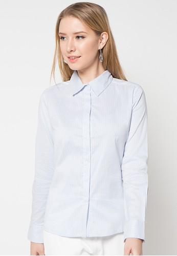 B.L.F blue Alicia Stripes Shirt BL612AA24KDNID_1