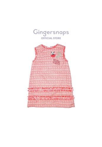 Gingersnaps multi Kokeshi Land Dress Multired 47909KA29B5910GS_1