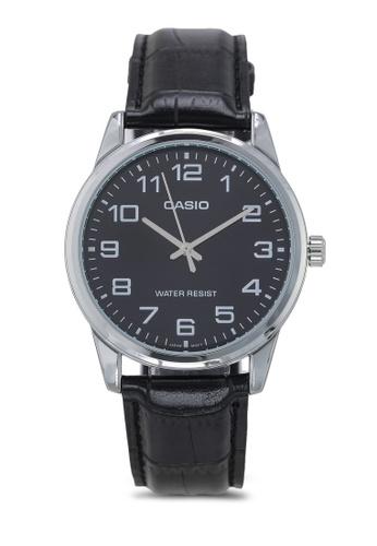 Casio black Casio MTP-V001L-1BUDF Watch B3573ACBB46740GS_1
