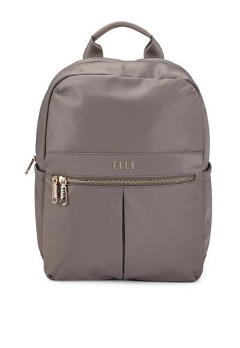 ELLE beige Agnes Backpack FD4CFACD5FA427GS_1