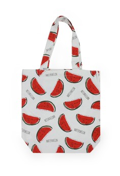 Watermelon Allover Pattern A4 Tote Bag