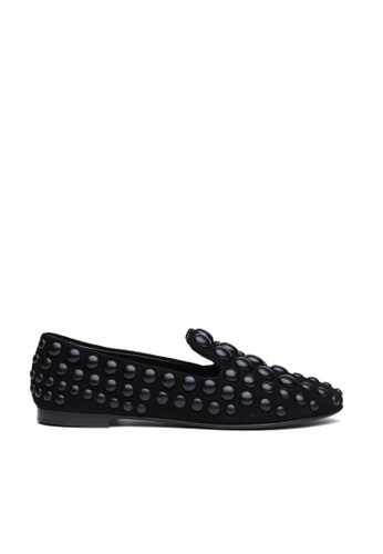 GIUSEPPE ZANOTTI 黑色 Giuseppe Zanotti/朱塞佩·薩諾第 平跟鞋 624FDSHA67A1CDGS_1