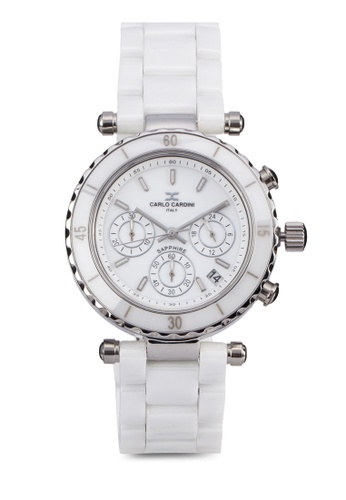 Carlo Cardini white Carlo Cardini Watch 506LC-WHT-1 CA038AC76IZZMY_1