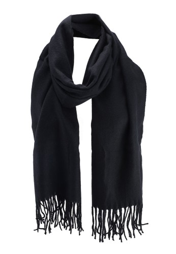 ONLY black Annali Weaved Scarf 6AD52ACC870ECCGS_1