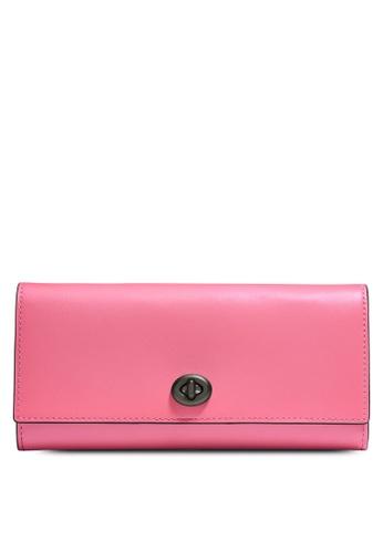 Coach pink Envelope Wallet (cv) F9AB9AC8FA6284GS_1