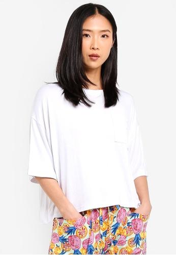 Cotton On Body white Sleep Recovery Boxy T-Shirt 502F5AA48E26C8GS_1