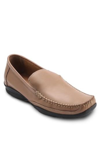 Austin 皮革方頭樂福鞋, esprit 品牌鞋, 鞋