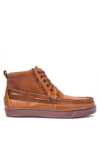 Caterpillar brown EDC-10 Boots CA367SH0IS6HPH_1