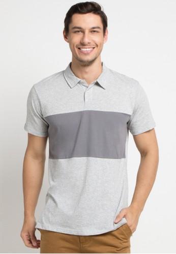 Quiksilver multi and grey Kuju Polo Shirt DE022AA151ABB2GS_1