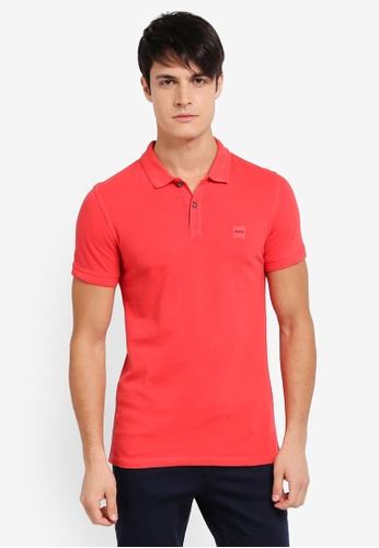 BOSS red Prime Polo Shirt - Boss Casual BO517AA0SRBKMY_1