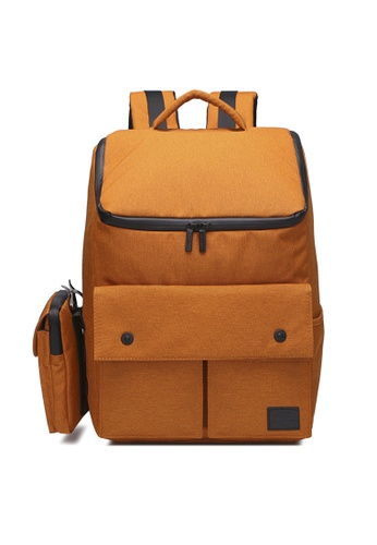 The Dude orange Dreamer Backpack TH373AC46NCBHK_1