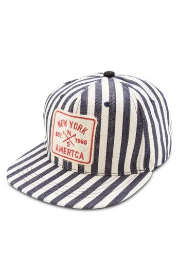 印花平簷鴨舌帽, 飾品配件,esprit hk 鴨舌帽