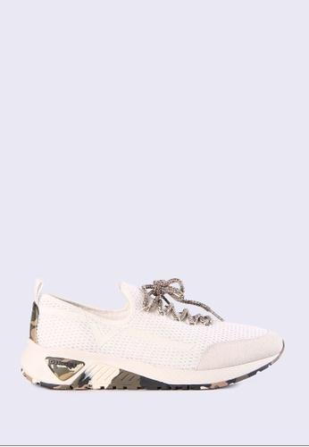 Diesel white S-Kby Sneakers 6832CSHAC7B257GS_1
