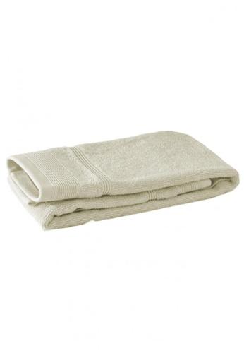 Primeo beige Premium Double Pile Beige Hand Towel 540gsm Soft High Absorbent 041C5HL416F1C7GS_1