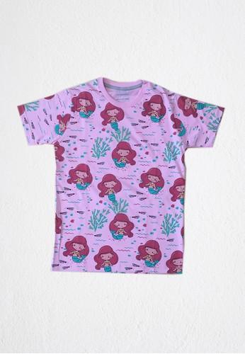 DISCREET KIDSWEAR pink DISCREET KIDSWEAR ADULT mermaid PINK T-SHIRT F3887AA7D01E64GS_1