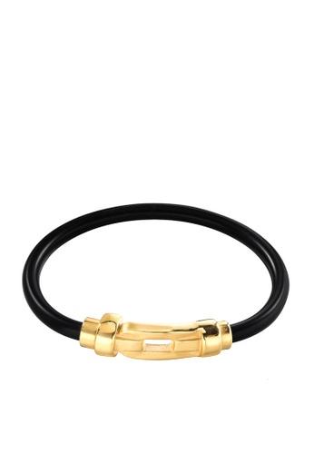 HAPPY FRIDAYS Magnetic Clasp Titanium Steel Bracelet DWS0565 34E29AC35640EFGS_1