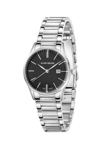 Alain Delon silver Alain Delon Women AD329-2332 Silver Stainless Steel Watch EC699ACF431D01GS_1