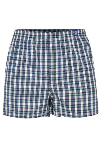 Sunjoy multi Checkered Boxer Shorts 708EAUSBE20B25GS_1