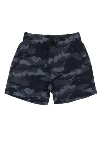 FOX Kids & Baby black Camo Woven Shorts DB147KA575C825GS_1