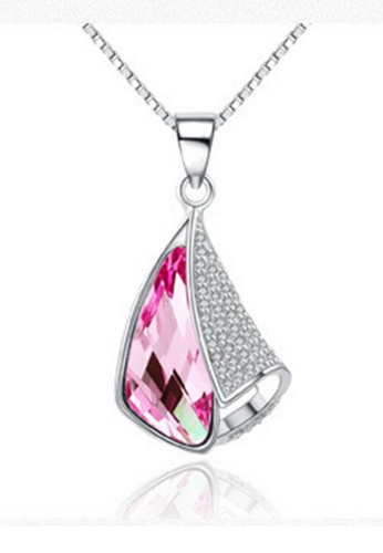 LYCKA silver LPP88083 S925 Silver Necklace 0A0E2AC05E2F69GS_1