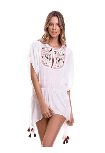 f8304a4dd7b6b Buy Coral Secret Bohemian with Tassels Beach Dress Online on ZALORA  Singapore