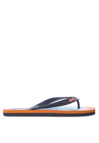 BENCH orange Printed Slippers BE550SH43LOIPH_1
