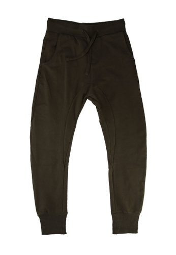 FOX Kids & Baby green Kids Boy Long Jersey Pants E1F84KAAC91F89GS_1