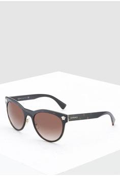 343027da7cb7 Versace brown Rock Icons VE2198 Sunglasses 0C6E8GL392E6E0GS_1