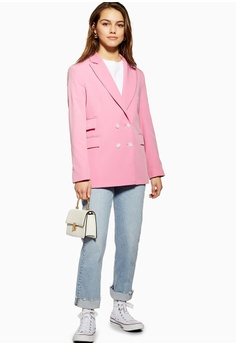 cb22ee7775840 TOPSHOP Petite Double Breasted Blazer S$ 109.00. Sizes 4 6 8 10 12