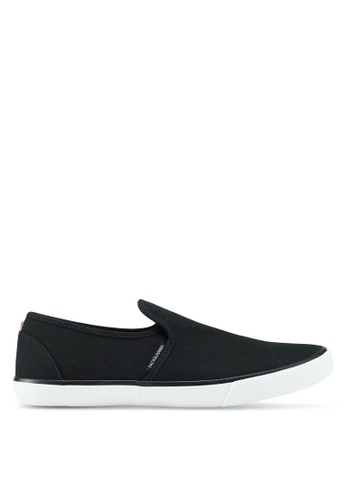 Jack & Jones black Seb Black Slip Ons 578EFSH01EDD49GS_1
