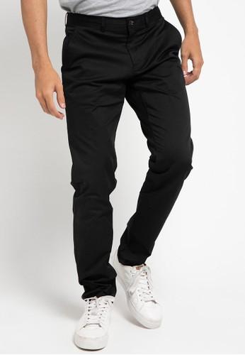 Obermain black Nerv Trousers CF4B5AA1DE2EBBGS_1