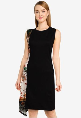 Desigual black Thaiyu Dress B1338AAC288F48GS_1