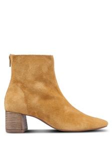 8e8922cb0d55 Suede Leather Ankle Boots D9181SH68264B0GS 1 Mango ...