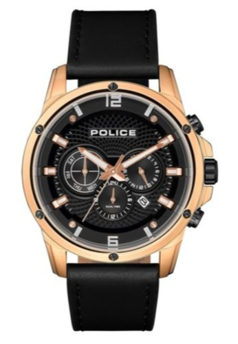 Police black Police Gent Watch Shandon PL15525JSR/02 24F3DACE12A3EAGS_1
