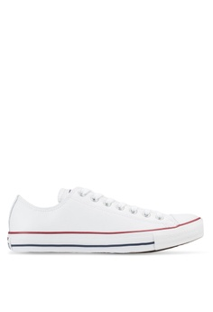 Converse white Chuck Taylor All Star Leather Core Ox Sneakers  CO302SH85YJAMY 1 115325ad1