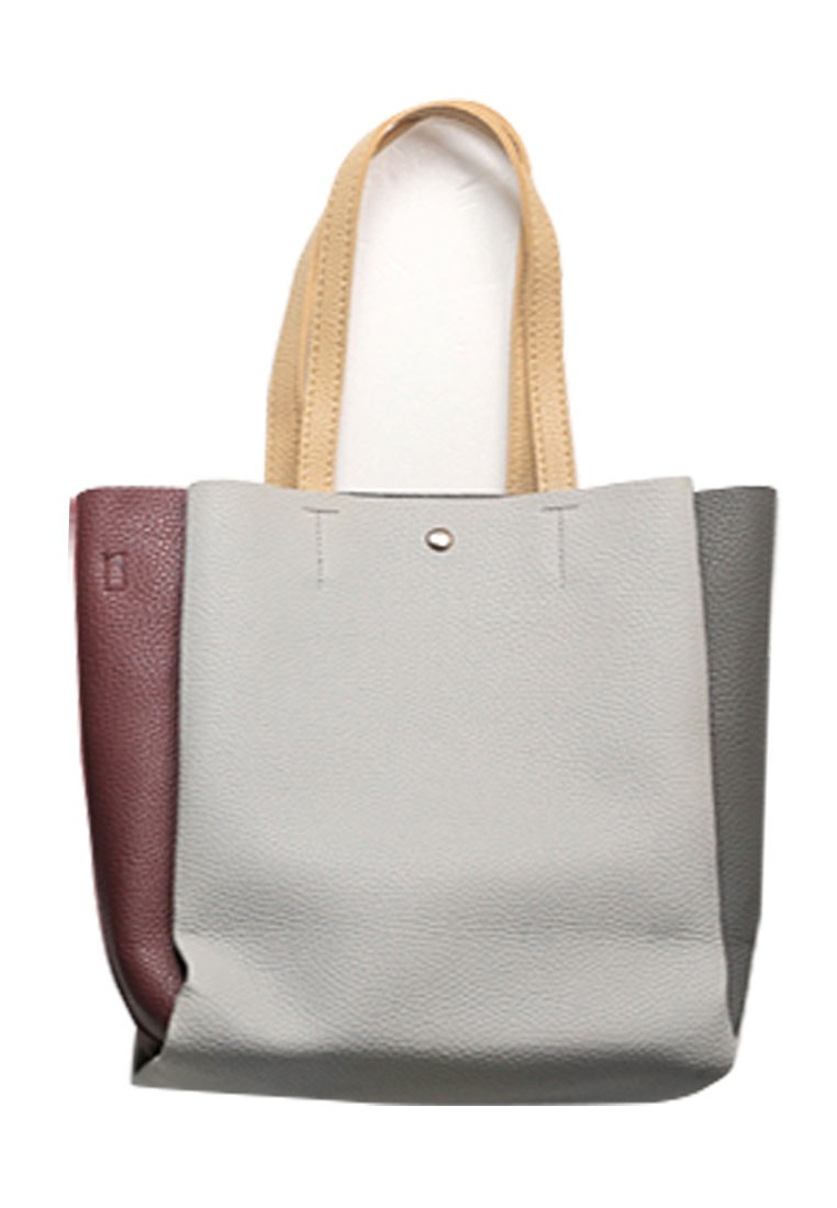 Hit Color Blocked Tote Bag