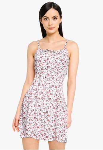 Hollister white Bare Woven Dress D16D5AAE212D59GS_1