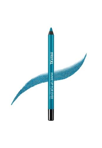 MAKE UP FOR EVER blue AQUA XL EYE PENCIL - Waterproof Eyeliner - Waterproof Eyeliner 1,2G I-24 52D6EBEF93E9E6GS_1